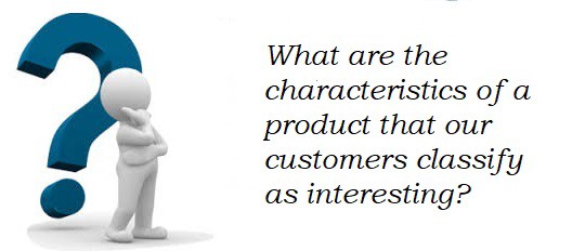 If a company could create products that are customer interest? | by Mayra  Mercedes Zegarra Rodriguez | What are the characteristics of a product that  our customers classify as interesting? | Medium